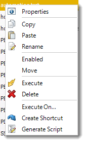 Power BI and SSRS. Event Based Schedule Context Menu in PBRS.