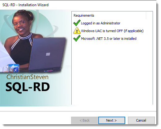 SSRS Reports: Installing SQL-RD.
