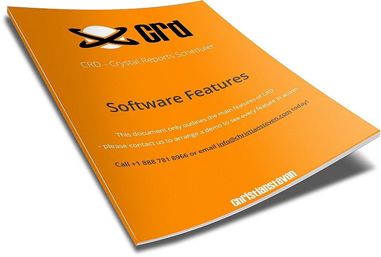 CRD  - Software Features Document
