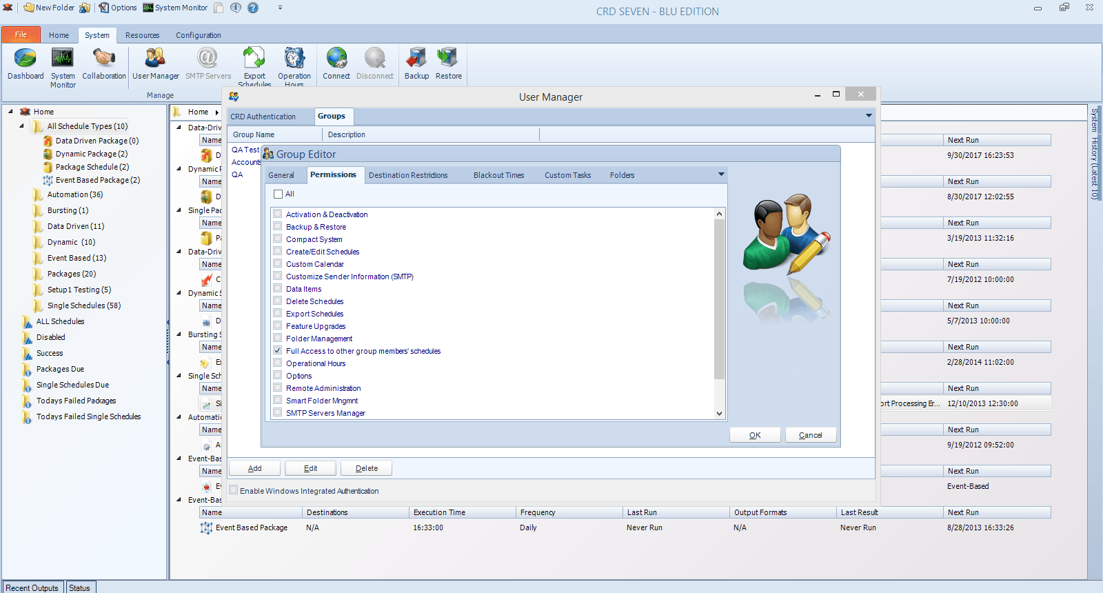 CRD Group Permissions
