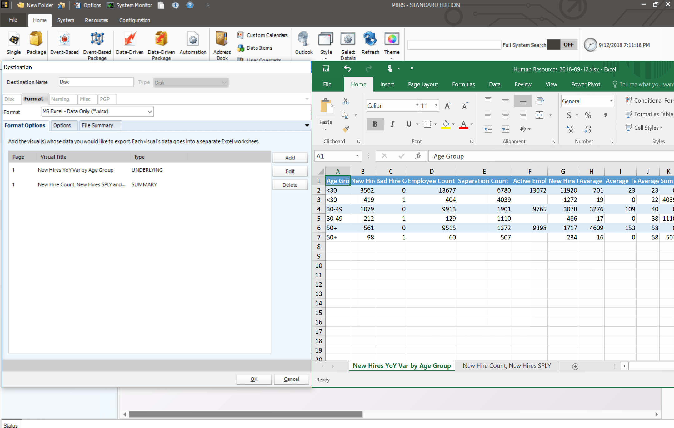 How To Export Power BI Reports to Excel and CSV formtas