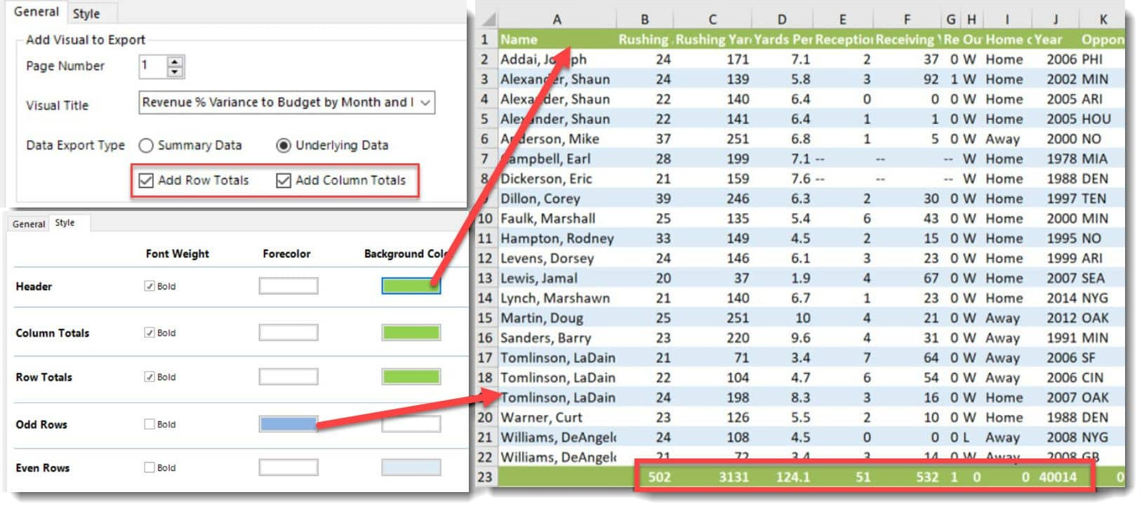 How To Get Totals in Excel for Power BI Reports