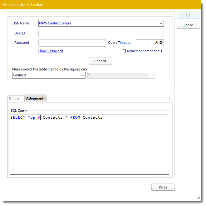 Power BI and SSRS Reports: Data-Driver Wizard in PBRS.