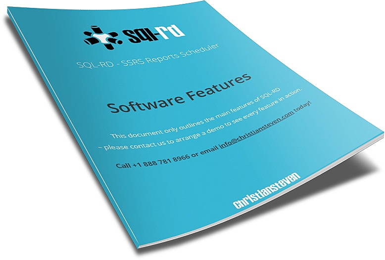 SQL-RD Software Features Document
