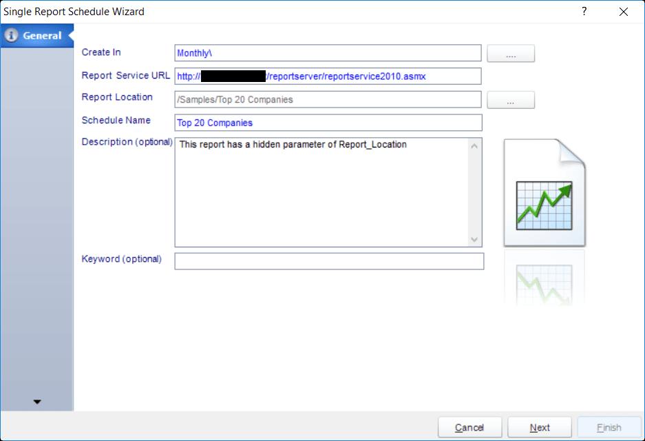 Single Schedule Report   SQL-RD