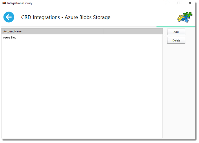 Crystal Reports: Azure Blob Storage in CRD