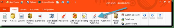 CRD Home Screen Data-Driven Auto