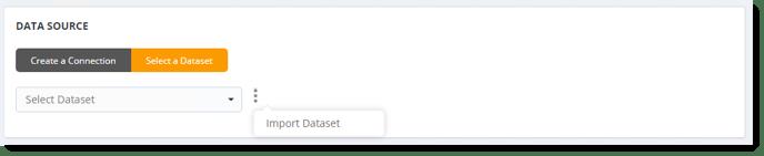 Data Source in Dashboard