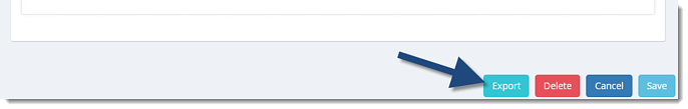 Export button in Dataset
