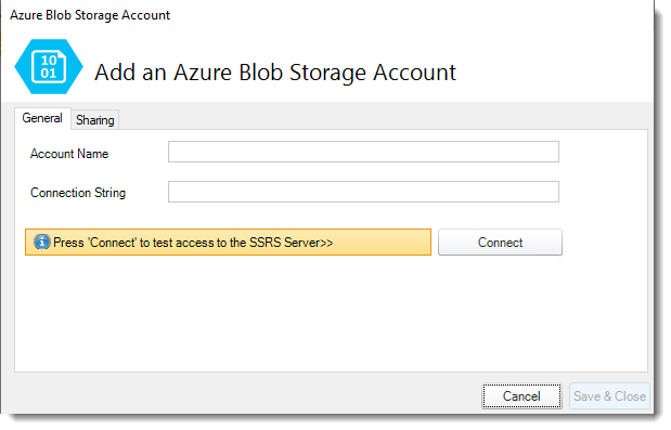 Power BI and SSRS: Azure Blobs Storage in PBRS.