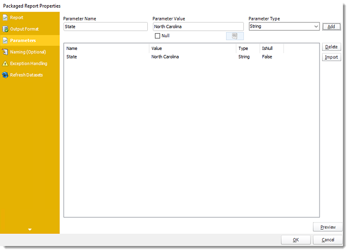 Power BI and SSRS: Packaged Report Properties Wizard in PBRS.