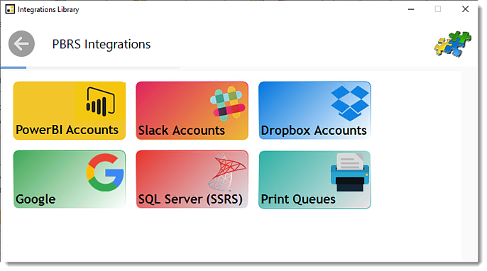 Power BI and SSRS Reports: Integration Library in PBRS>
