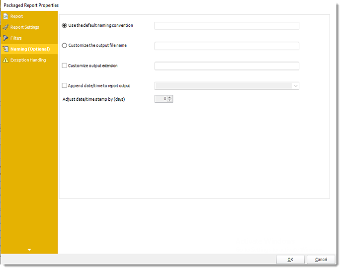 Power BI and SSRS. Package Report Properties of Package Schedule Report for PBIRS in PBRS.