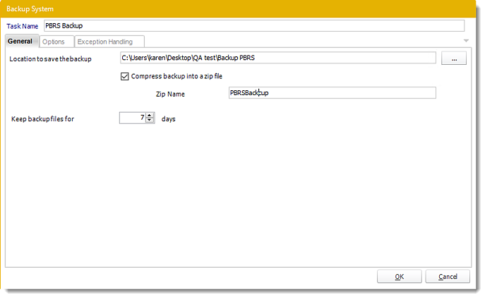 Power BI and SSRS. System Backup Custom Tasks Wizard in PBRS.