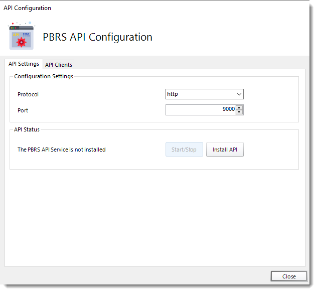 Power BI And SSRS Reports: PBRS API Configuration in PBRS.