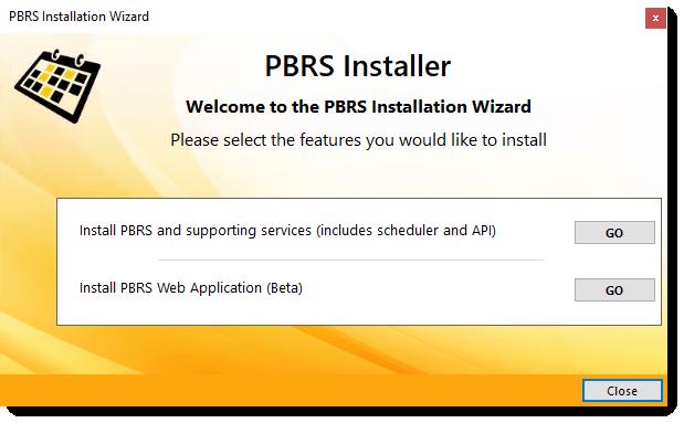 PBRS Installation Wizard