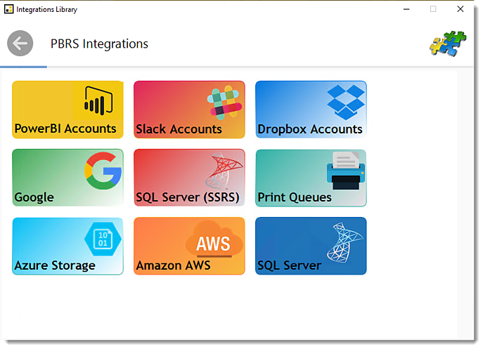 Power BI and SSRS: Integrations Library in PBRS.