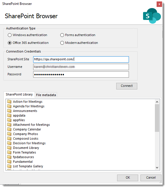 Power BI and SSRS. SharePoint Destination Wizard in PBRS
