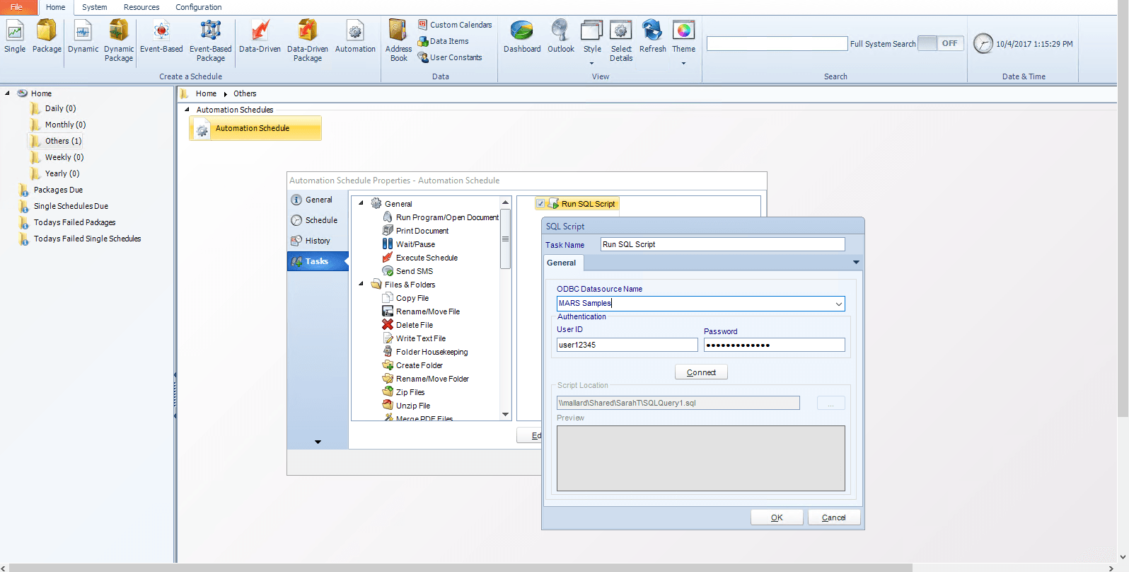 How to Run SQL Scripts with MS Access