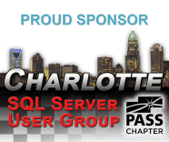 Charlotte SQL Server User Group - The best place to meet and learn from SQL Server experts in Charlotte, NC, USA. Free meetups each month.