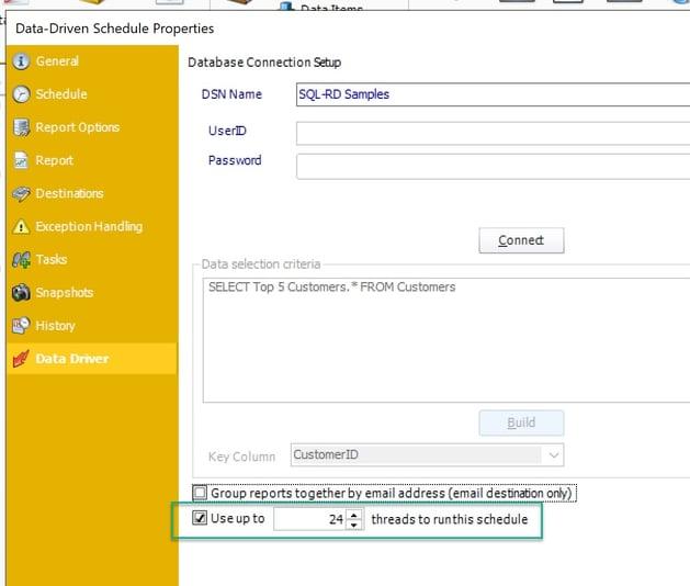 PBRS Data Driven Multithreaded