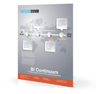 Info-graphic: BI Continuum