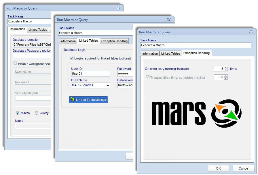 Automation Scheduler for MS Access Reports, Queries & Macros | MARS