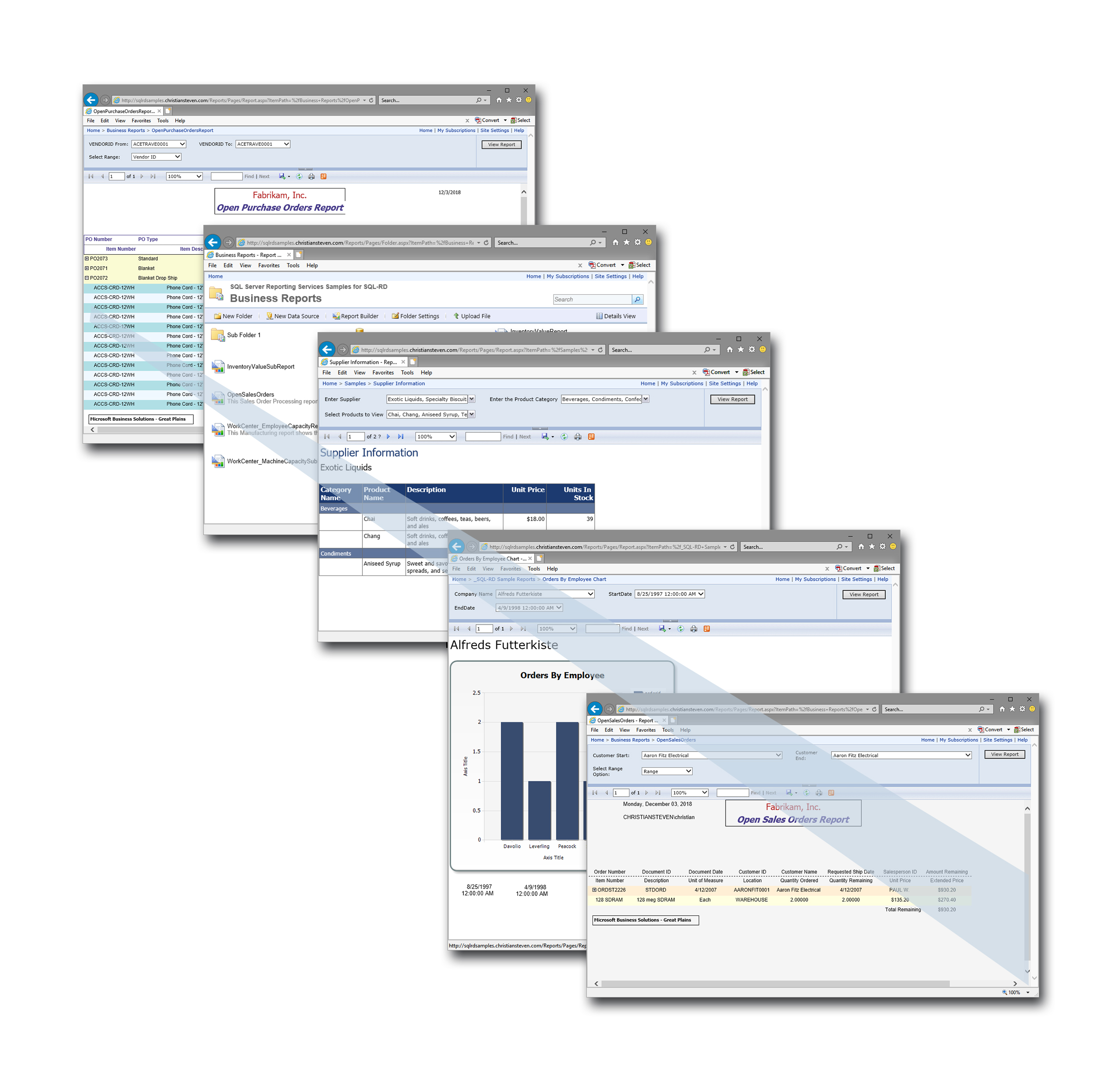 SSRS SQL Reporting Services
