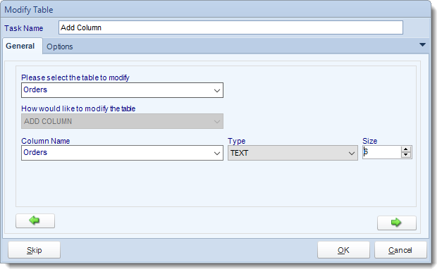 SSRS. Custom Tasks: Add column to table in SQL-RD