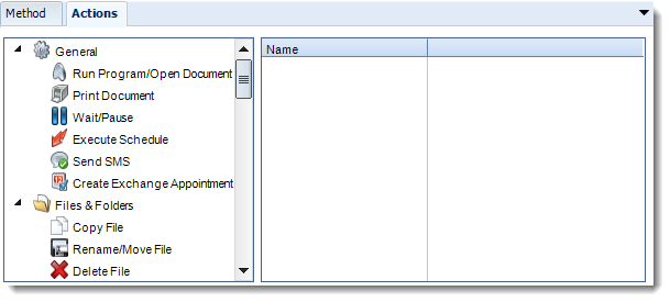 Crystal Reports: New Event Based Schedule Report Properties Wizard in CRD.