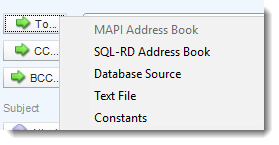 SSRS. Email Destination section in SQL-RD