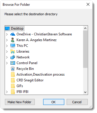 SSRS. Disk Destination browser for folder in SQL-RD