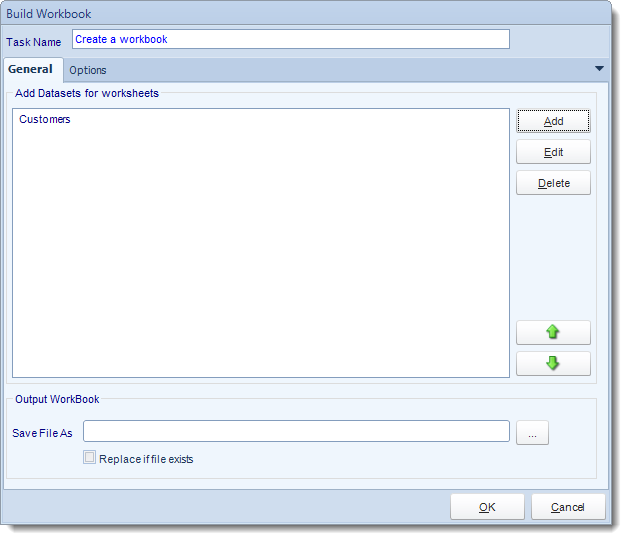 SSRS. Custom Tasks: Build Excel Workbook in SQL-RD