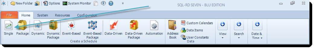 SSRS. SQL-RD Home Main Menu.