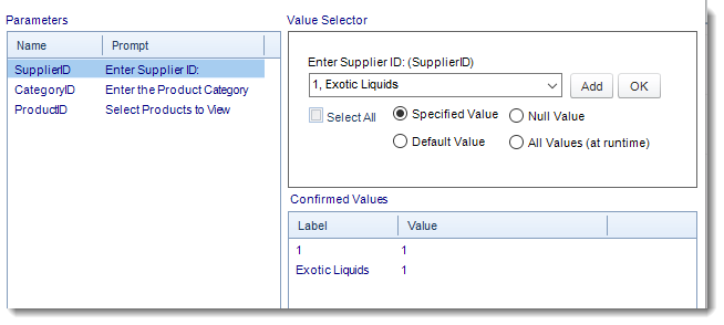 SSRS. Report Parameters Wizard in Single Report Schedule using SQL-RD.