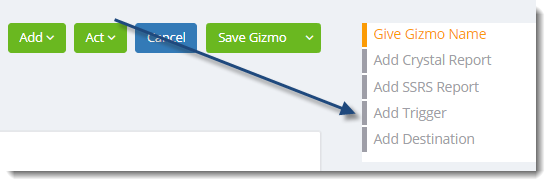 KPI's and Dashboards: Creating Gizmos in IntelliFront BI.