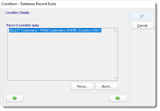 SSRS. Database Record Exists Condition Wizard in Event Based Schedule In SQL-RD