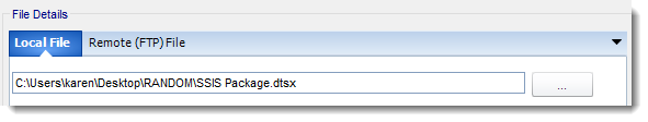 SSRS. File Exists - Condition Wizard in Event Based Schedule In SQL-RD