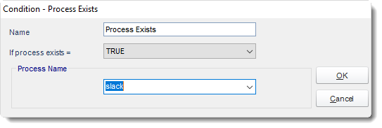 SSRS. Process Exists - Condition Wizard in Event Based Schedule In SQL-RD