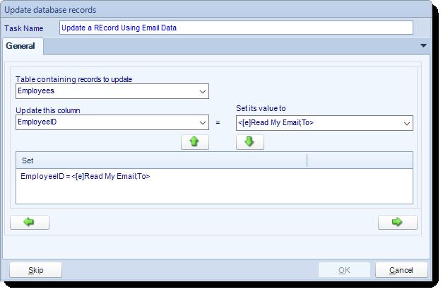 SSRS. Update database record tasks in SQL-RD
