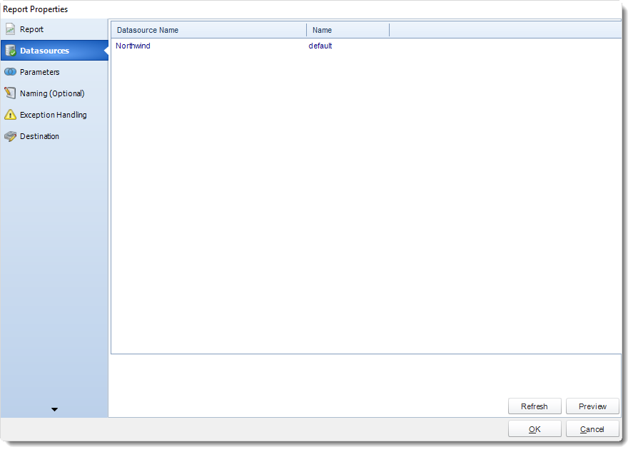 New SSRS Report Properties Wizard in Event Based Schedules in SQL-RD