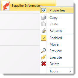 SSRS. Data Driven Schedule Context Menu in SQL-RD