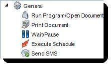 MS Access: Custom Tasks Wizard in Schedule in MARS.