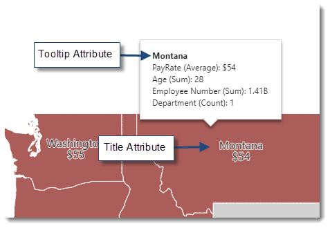 KPI's and Dashboards: Creating Choropleth Map Dashboard item in IntelliFront BI.