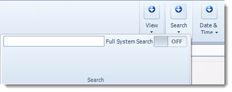 MS Access: Search bar in MARS.