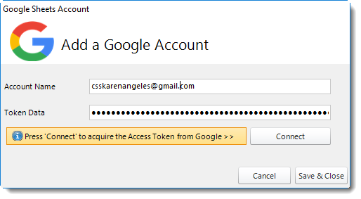 Power BI and SSRS. PBRS Integrations: Google Accounts in PBRS.