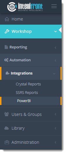 KPI's and Dashboards: Using Power BI in IntelliFront BI.