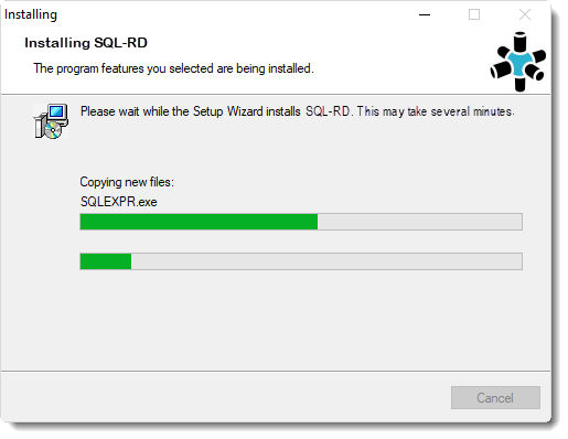 Welcome to the SQL-RD Setup Wizard: Installing SQL-RD