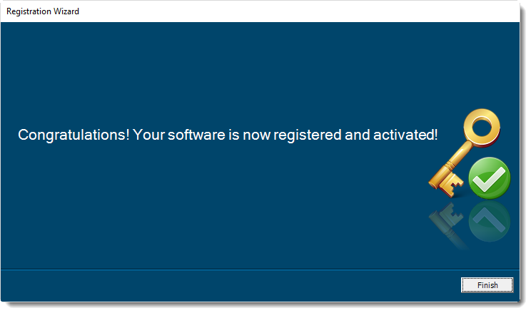 ChristanSteven Software - Registration Wizard.