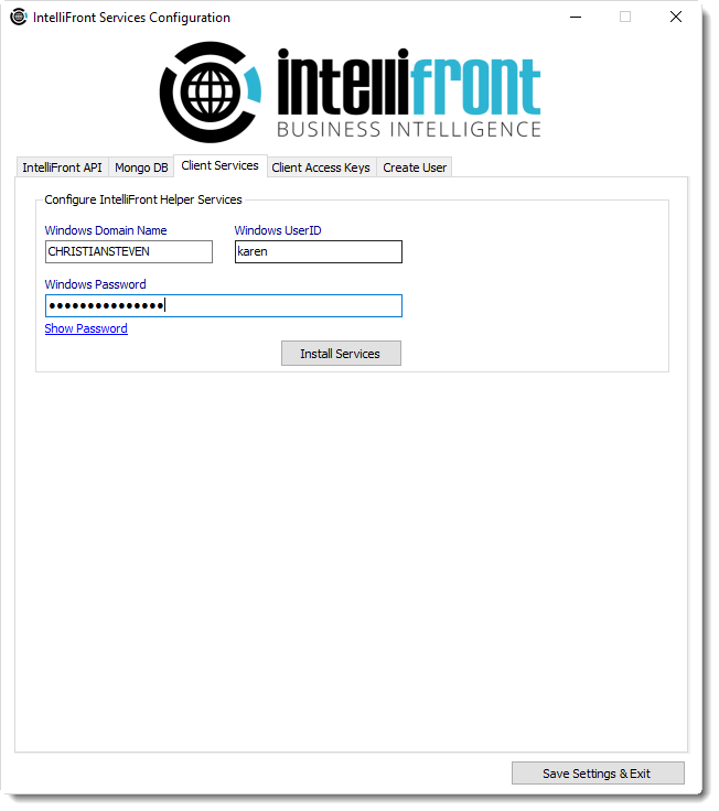 KPI's and Dashboards: Installing IntelliFront BI on your server.